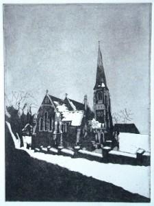 14  Eglise sous la neige